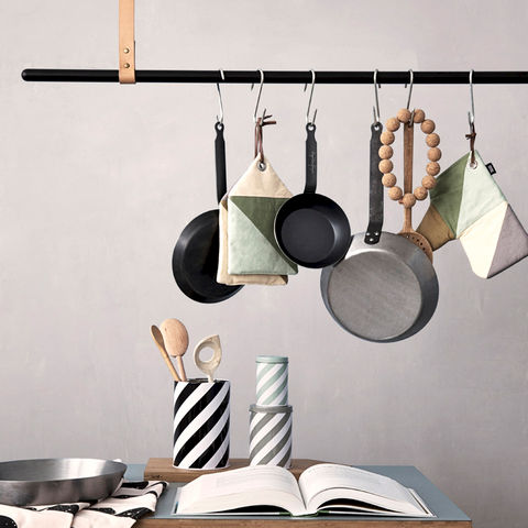 ‹RACK›,by,ferm,LIVING,ferm living, rack, clothing, kleiderstange, clothes, rail, iron, hat stand, kleiderständer, kitchen, help