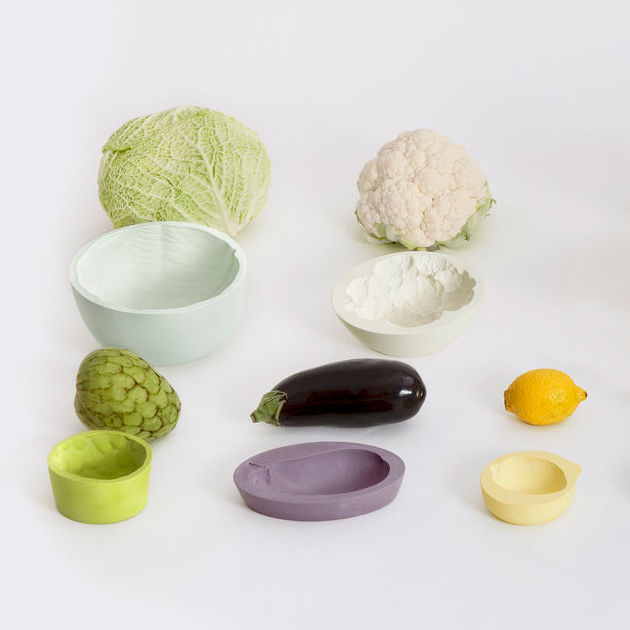 ‹REVERSED VOLUMES› FRUIT/VEGETABLE BOWLS - product image
