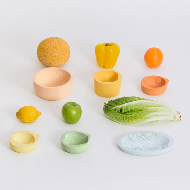 ‹REVERSED VOLUMES› FRUIT/VEGETABLE BOWLS - product images  of