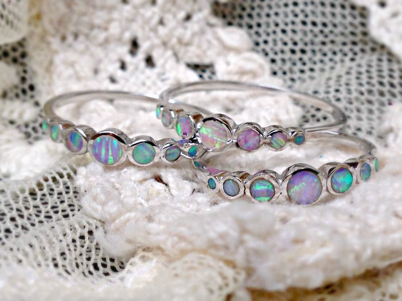 Unicorn Tears Opal Ring - product image