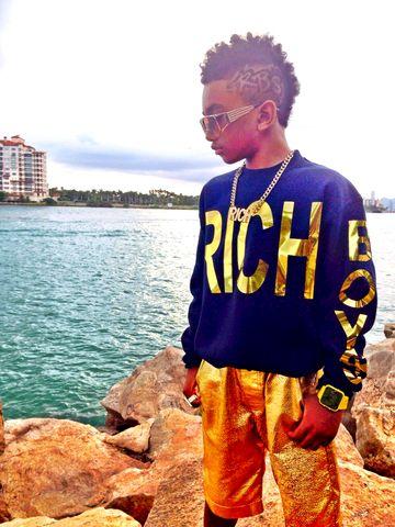Quot Gold Quot Rich Boys Sweatshirt