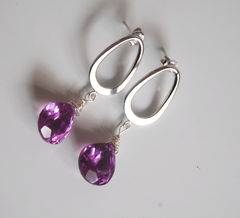 Gemstone,ALEXANDRITE,Quartz,Dangle,Drop,Earrings,on,Silver,Jewelry,alexandrite_quartz,alexandrite_earrings,purple_earrings,gemstone_earrings,gemstone,dangle_earrings,drop_earrings,for_her,christmas,holiday,dangling_earrings,ohcanadateam,cyber_monday_etsy,alexandrite quartz,sterling silver wire,rho