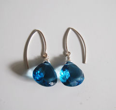 Gorgeous,AAA,Grade,London,Blue,Quartz,dangle,Earrings.,Jewelry,Earrings,Dangle,london_blue_quartz,blue_earrings,quartz_earrings,dangle_earrings,drop_earrings,gemstone_jewelry,gemstone_earrings,handmade_jewelry,feminine_earrings,wedding_jewelry,wedding_earrings,bridal_jewelry,cyber_monday_etsy,london blue quar