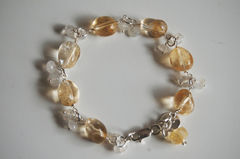 Citrine,And,Moonstone,Bracelet,with,Sterling,silver,Jewelry,Stone,citrine_bracelet,citrine_jewelry,moonstone_jewelry,moonstone_bracelet,for_her,for_women,under_50,bridal_jewelry,brides_jewelry,wedding_jewelry,bridesmaids_jewelry,handmade_bracelet,gift_for_her,citrine,moonstone,strling silver