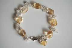 Citrine,And,Moonstone,Bracelet,with,Sterling,silver,Jewelry,Stone,Citrine_bracelet,citrine_jewelry,moonstone_jewelry,moonstone_bracelet,for_her,for_women,under_50,bridal_jewelry,brides_jewelry,wedding_jewelry,bridesmaids_jewelry,handmade_bracelet,handmade_jewelry,citrine,moonstone,strling_silver