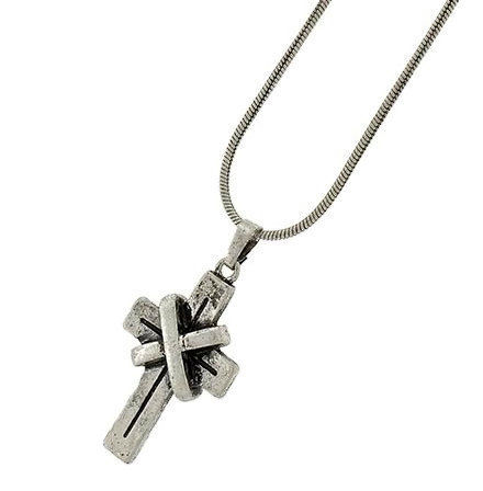 Mens cross necklace mens jewelry pewter cross chain cross mens cross necklace mens jewelry pewter cross chain cross pendant industrial aloadofball Gallery