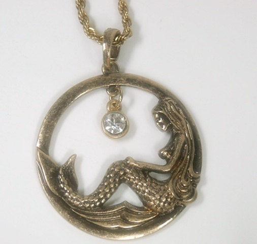 Mermaid necklace mermaid jewelry mermaid pendant rose gold mermaid mermaid necklace mermaid jewelry mermaid pendant rose gold mermaid beach jewelry nautical necklace ocean sea handmade aloadofball Choice Image
