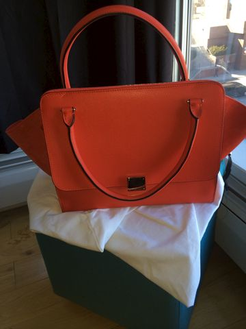 SOLD-Celine,Trapeze,BNWT,Celine, celine luggage, celine phantom, celine trapeze, celine sale, celine consignment