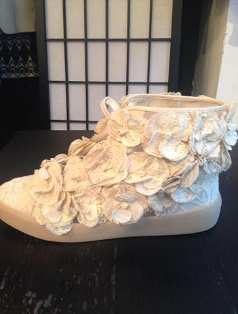 SOLD-Chanel,Camellia,Flower,Lace,Sneakers,chanel sneakers, camellia sneakers, chanel classic, chanel consignment