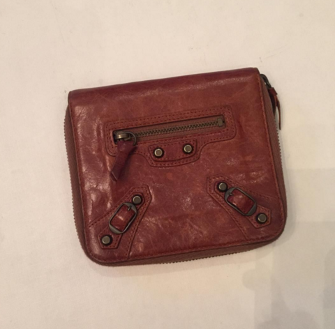 Balenciaga,Leather,Wallet,balenciaga wallet, wallet, consignment wallet