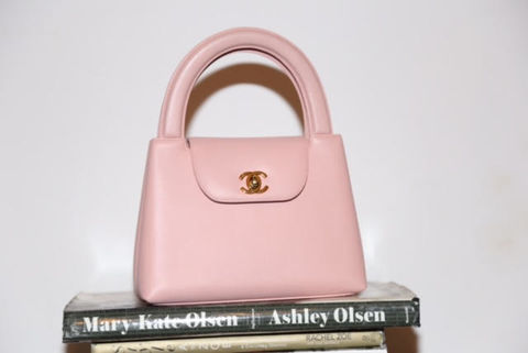 Vintage,Chanel,Kelly,Style,Bag,chanel, vintage chanel, chanel consignment, chanel pink bag