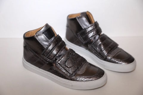 SOLD-Maison,Margiela,Sneakers,Shoes, Sneakers, Silver, Metallic, Consignment, Harlem, Boutique
