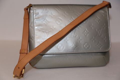 Louis,Vuitton,Shoulder,Bag,Louis Vuitton, patent, classic, shoulder bag, consignment