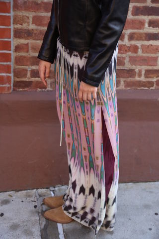 Nicole,Miller,X,Atelier,Maxi,skirt, maxi skirt, atelier, consignment