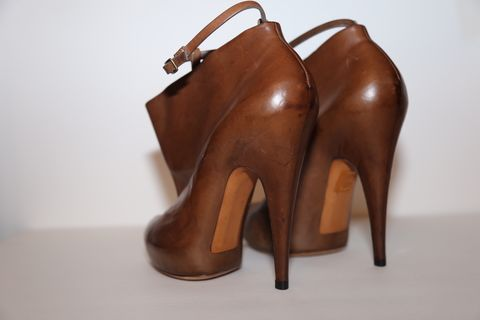 SOLD-Givenchy,Leather,Bootie,Givenchy, boots, leather, shoes, fall, consignment