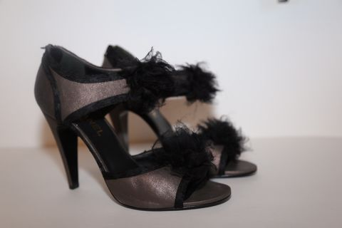 Chanel,Heels,chanel, shoes, heels, leather, consignment