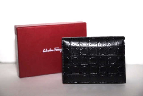 Salvatore,Ferragamo,Monogram,Wallet,Salvatore Ferragamo Monogram Wallet, wallet, mens wallet, black wallet