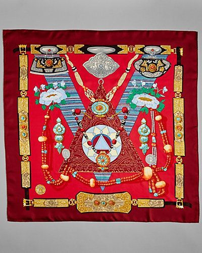 Hermes Silk Scarf-Vintage - product images  of