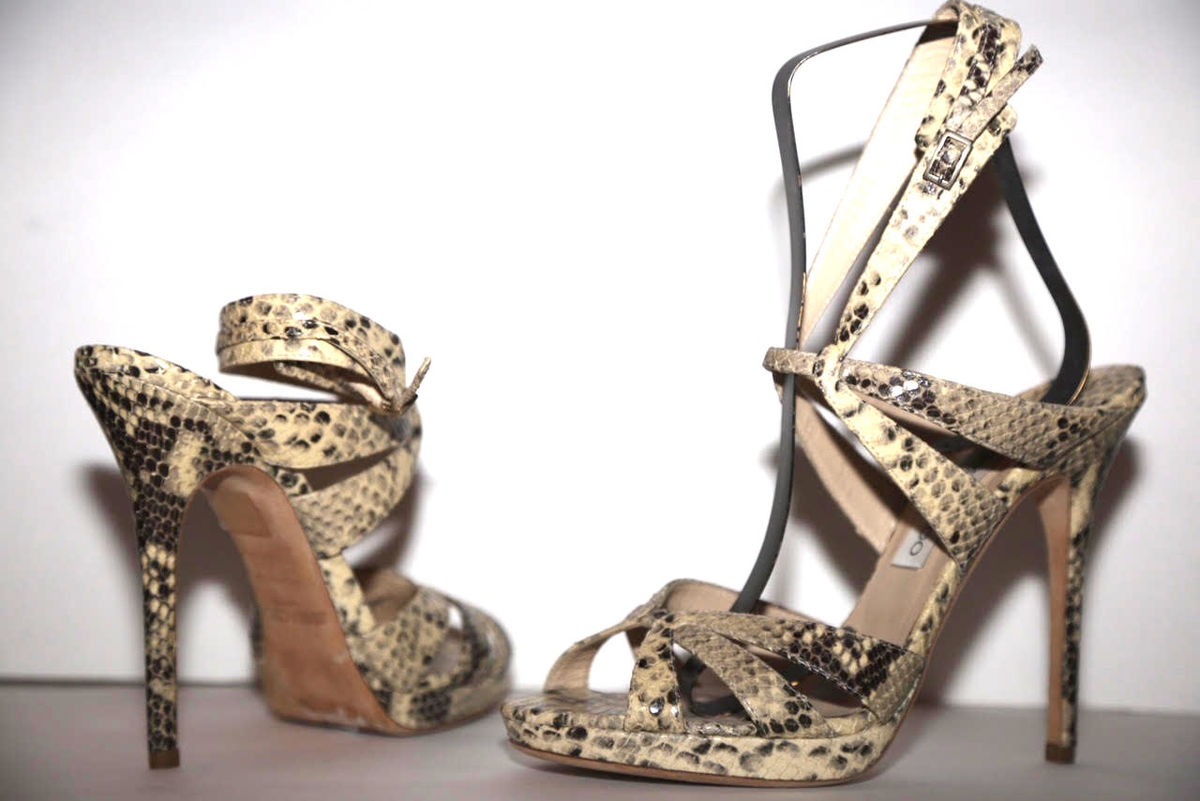 Jimmy Choo Snakeskin Sandals - product images  of