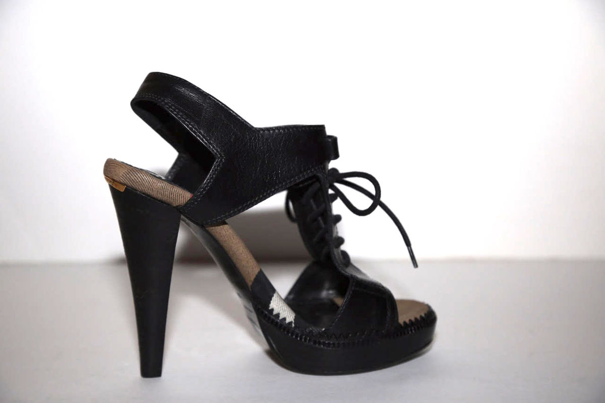 Burberry Laceup Novacheck Sandal - product images  of