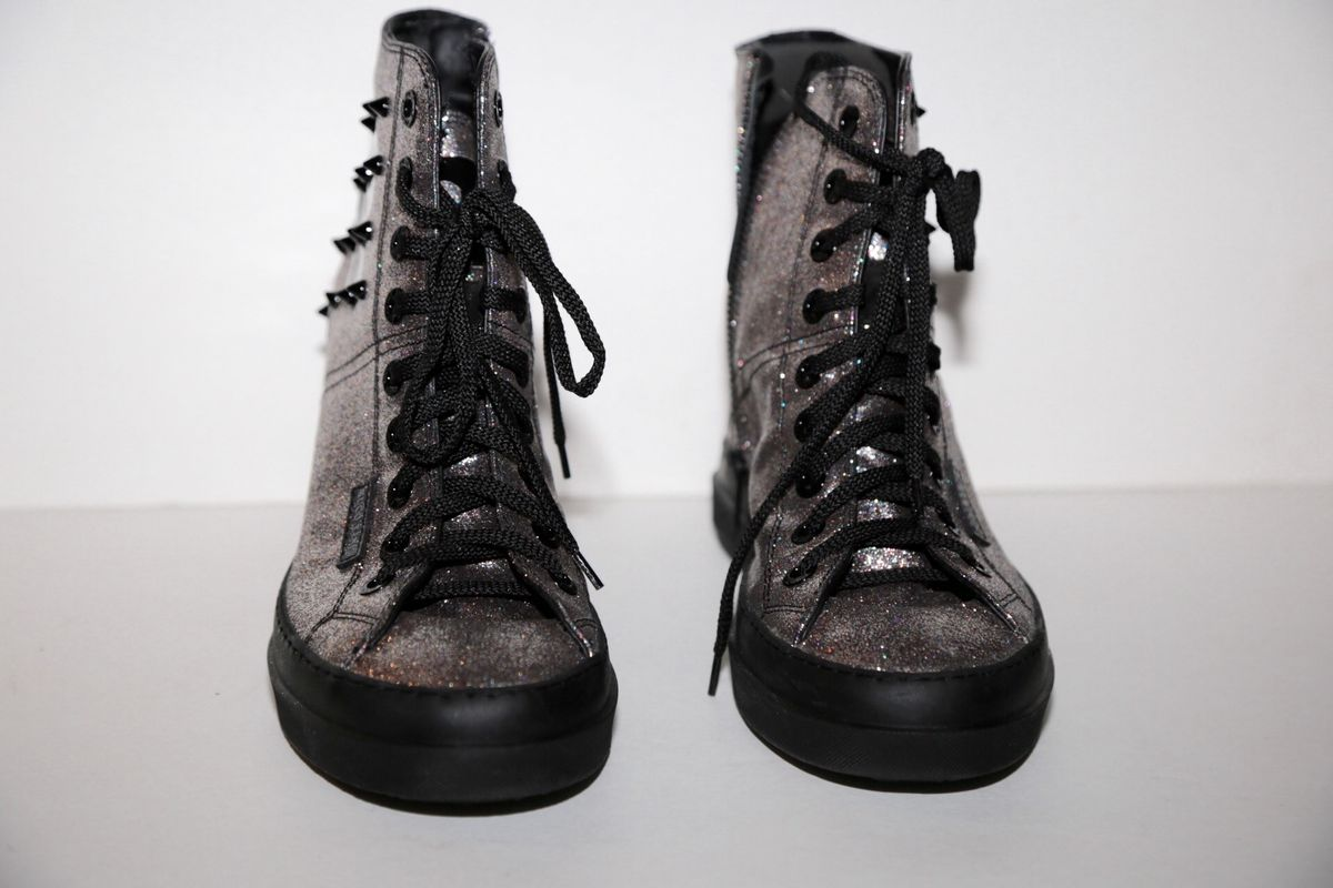 RUCO LINE GLITTER WEDGE SNEAKER - product images  of