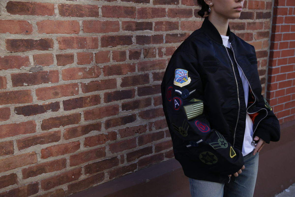 Smoke Rise Army Patch Bomber  - product images  of