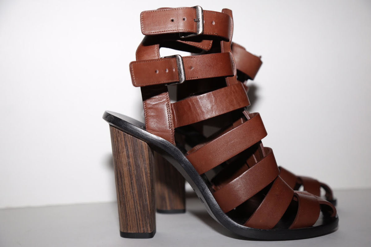 VINCE. Nicolette Block Heel Sandal - product images  of