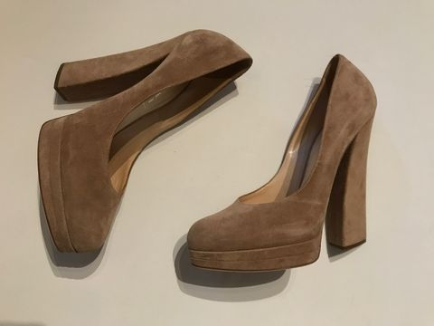 Casadei,Platform,Suede,Pumps,casadei sandals, casadei platform pumps, casadei vintage, suede pumps, fall pumps, consignment