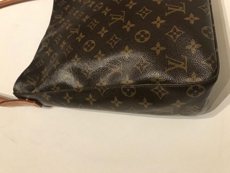 Vintage louis vuitton shoulder bag trunk show designer for Louis vuitton bin bags