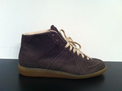 Maison,Martin,Margiela,Brown,Suede,Sneakers,leather sneakers, designer sneakers