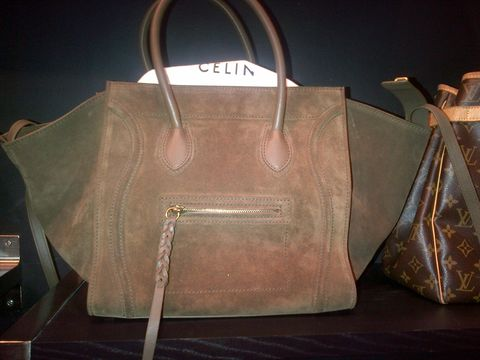 SOLD---Celine,Phantom,Suede,Olive
