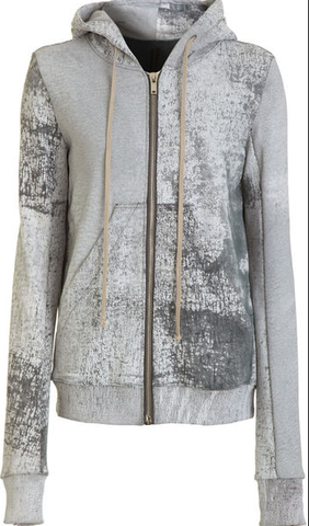 SOLD-Unisex,Rick,Owens,Cracked,Paint,Sweatshirt