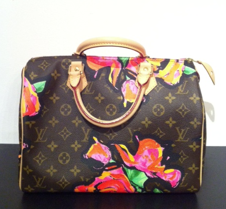 SOLD-,Louis,Vuitton,Stephen,Sprouse,Speedy,30,louis vuitton, designer handbags, stephen sprouse