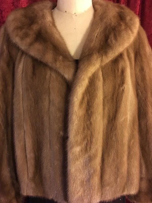 Fabulous Fur Jacket with Pockets - product images  of