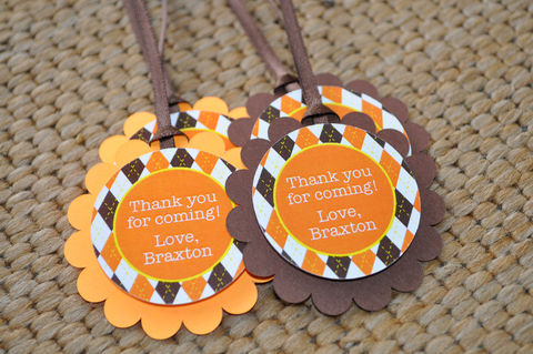 Argyle,Birthday,Favor,Tags,-,Halloween,,Autumn,Party,Decorations,Fall,Colors,Brown,,Orange,,Yellow,Set,of,12,birthday party favor tags, halloween birthday favor tags, argyle favor tags, argyle birthday, birthday banners, decoration, baby shower banner, 1st birthday banner, happy birthday banner, party sign, personalized party, girls birthday party, birthday bann