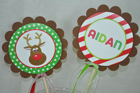 Reindeer,Centerpiece,Sticks,-,Holiday,,Winter,Birthday,Party,Decorations,Christmas,Set,of,4,reindeer centerpieces, birthday centerpieces, reindeer birthday party, reindeer birthday, reindeer birthday favor tags, party favor tags, party favors,birthday banners, decoration, baby shower banner, 1st birthday banner, happy birthday banner, party sign