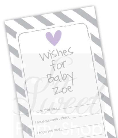Baby,Wish,Cards,-,Girls,Shower,Well,Purple,Decorations,Advice,Set,of,12,purple baby shower, baby well wish cards, baby advice cards, pink baby shower favor tags, pink baby shower, girls baby shower, baby shower favor tags, baby shower favors, boy shower decorations, party favor tags, party favors,birthday b