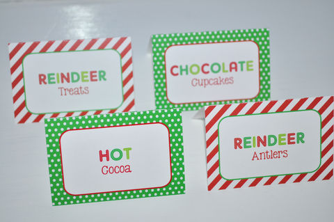 Reindeer,Birthday,Food,Label,Tent,Cards,-,Holiday,,Winter,Party,Decorations,Set,of,12,reindeer food label cards, buffet food labels, food labels, reindeer centerpieces, birthday centerpieces, reindeer birthday party, reindeer birthday, reindeer birthday favor tags, party favor tags, party favors,birthday banners, decoration, baby shower ba