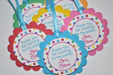 Favor,Tags,Birthday,Party,-,Girls,1st,Colorful,,Polkadots,Set,of,12,birthday party favor tags, favor tags, birthday favors, birthday centerpieces, centerpiece sticks, birthday banners, decoration, baby shower banner, 1st birthday banner, happy birthday banner, party sign, personalized party, girls birthday party, birthday