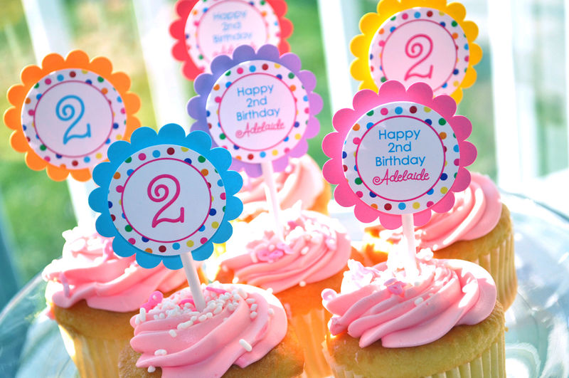 Highchair Banner - I am 1 Banner - 1st Birthday Banner - Colorful Polkadots - Birthday Party Decorations - product images  of