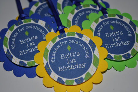 12,Boys,1st,Birthday,Party,Favor,Tags,-,Argyle,Decorations,Golf,Personalized,birthday banners, decoration, baby shower banner, 1st birthday banner, happy birthday banner, party sign, personalized party, girls birthday party, birthday banner, party decorations, girls birthday ideas, party banner, boys party ideas, argyle birthday,