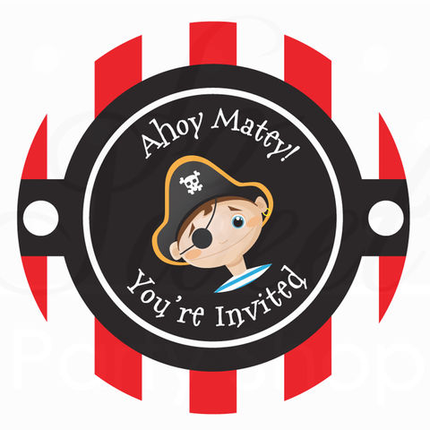 24,Birthday,Favor,Sticker,Labels,-,Pirate,Theme,Personalized,favor sticker labels, party favors birthday stickers, party favor bag stickers, containers labels, envelope seals, party decor labels