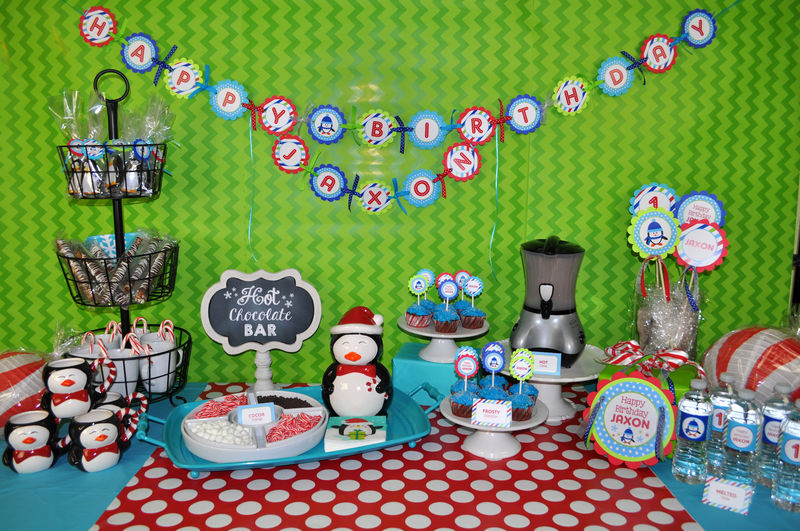 Penguin Decorations Penguin Birthday Decorations 28