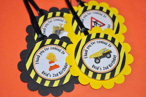 Construction,Birthday,Party,Favor,Tags,-,Decorations,Dump,Truck,Set,of,12,construction birthday, construction party decorations, construction favor tags, dump truck birthday party, birthday favor tags, boys 1st birthday favor tags, 1st birthday, construction birthday favor tags