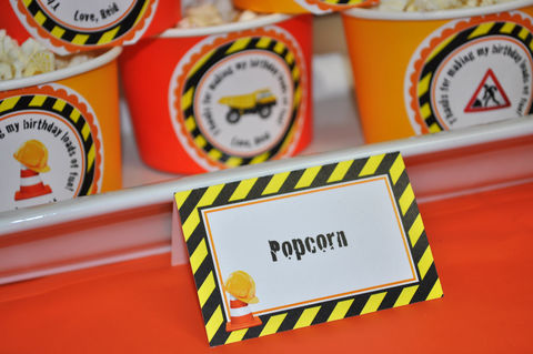 Construction,Food,Labels,-,Boys,Birthday,Party,Decorations,Dump,Truck,Theme,Personalized,and,Printed,Set,of,12,construction birthday, construction party decorations, construction food labels, dump truck birthday party, birthday food buffet labels, boys 1st birthday placecards, 1st birthday, construction birthday food label cards