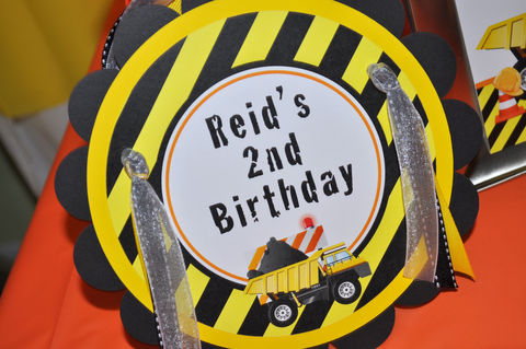 Construction,Birthday,Party,Door,Sign,-,Decorations,Dump,Truck,construction birthday, construction party decorations, construction door sign, dump truck birthday party, birthday party sign, boys 1st birthday door sign, 1st birthday, construction birthday party sign