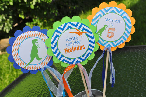 Dinosaur,Centerpiece,Sticks,-,Theme,Birthday,Party,Centerpieces,Decorations,Set,of,3,dinosaur birthday, dinosaur party decorations, dinosaur centerpieces, dinosaur birthday party, birthday centerpieces, boys 1st birthday, 1st birthday, dinosaur birthday centerpiece sticks