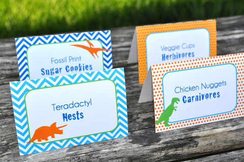 Dinosaur,Birthday,Party,Food,Labels,-,Theme,Personalized,and,Printed,Decorations,Set,of,12,dinosaur birthday, dinosaur party decorations, dinosaur food label cards, dinosaur birthday party, birthday buffet labels, boys 1st birthday, 1st birthday, dinosaur birthday food cards, birthday placecards