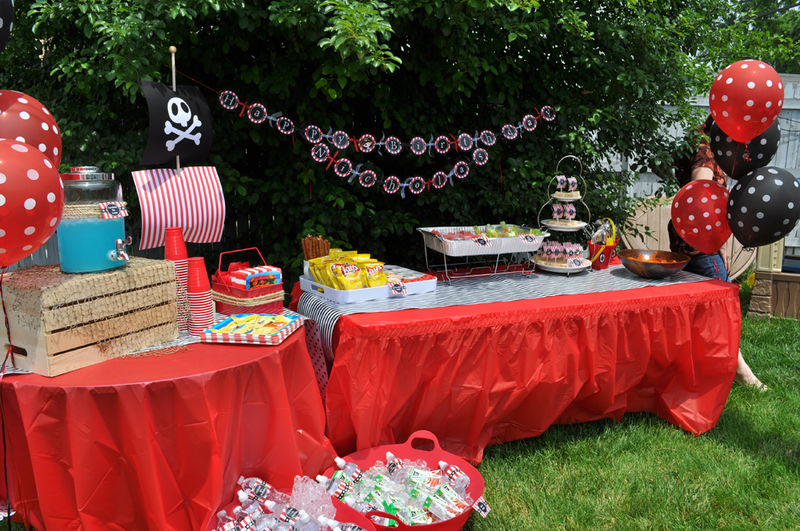 Pirate Party Banner Pirate Birthday Banner Boys Pirate – Kids Pirate Party Invitations