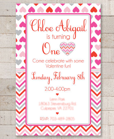 Valentine,Birthday,Invitations,-,Valentine's,Day,February,Heart,Chevron,Set,of,12,valentines day party invitations, valentine birthday invitations, heart party decorations, heart valentine party favors, valentines day birthday party, birthday stickers, favor stickers, party favors, birthday party favors